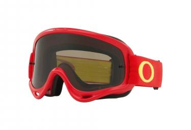 Oakley Mask O-Frame MX Red Yellow / Dark Grey / Ref. OO7029-45