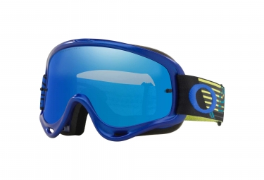Masque Oakley O-Frame MX Cicuit Yellow Blue / Ice Iridium / Ref. OO7029-51