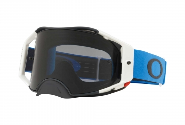 Masque Oakley Airbrake MX Blue Gunmetal / Dark Grey / Ref. OO7046-73