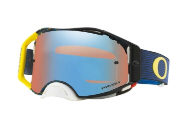 Oakley Airbrake MX Equalizer Blue Yellow / Prizm MX Spphire Iridium / Ref. OO7046-77