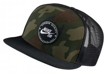Nike SB Trucker Hat Cap Medium Olive Black
