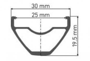Roue Arrière DT Swiss M1900 Spline 29'' 25mm | 12x142mm | Corps Sram XD