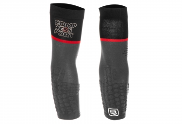 Compressport ArmForce Ultralight Sleeves Black Grey