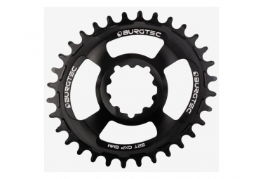 Burgtec Chainring Oval GXP Thick Thin / 6mm Offset / Black