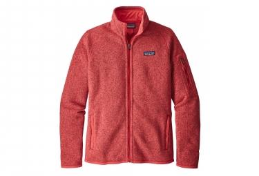 Veste Zippée Femme Patagonia Better Sweater Rouge