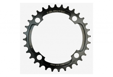 Burgtec Chainring 104 BCD Thick Thin Black