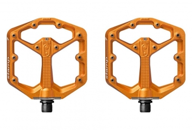 Crankbrothers STAMP 7 Pair of Pedals Orange