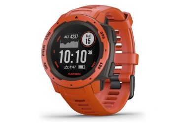 Montre gps garmin instinct rouge