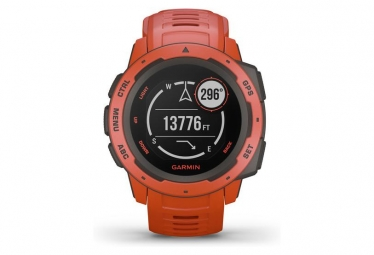 Garmin Instinct GPS Watch Red