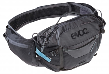 Evoc Hip Pack Pro 3L Hydration Belt Black Carbon Grey + 1.5 L Bladder