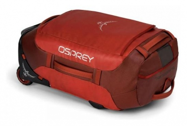 Osprey Rolling Transporter 40 Travel Bag Ruffian Red