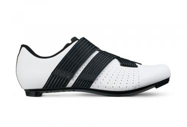Chaussures route fizik tempo powerstrap r5 blanc noir 42