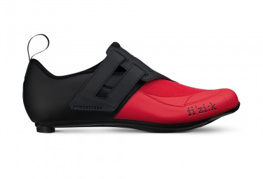 Fizik Transiro Powerstrap R4 Triathlon Shoes Black / Red