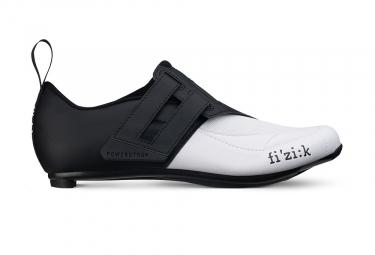 Chaussures Triathlon Fizik Transiro Powerstrap R4 Noir / Blanc