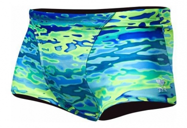 Tyr Serenity All Over Trunk Swimsuit Blue Green