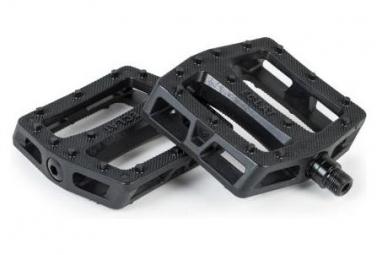 Pair of Flat Pedals Eclat Seeker PC 9/16 Black