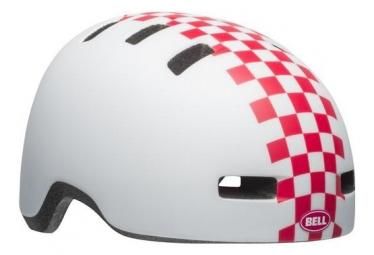 Bell Lil Ripper Casco Mate Blanco / Rosa