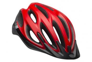 Casque bell traverse rouge noir 54 61 cm