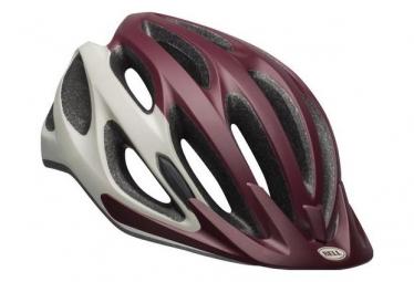 Bell Coast Helmet White Maroon