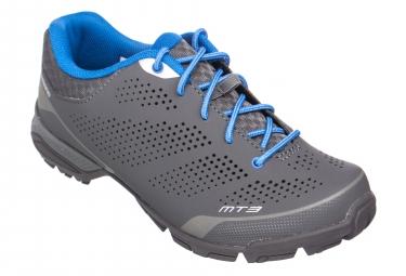 Chaussures de velo femme shimano mt301 gris 37