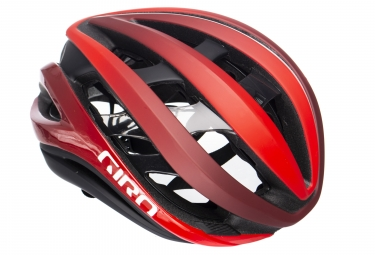 Casque giro aether mips matte rouge blanc noir m 55 59 cm