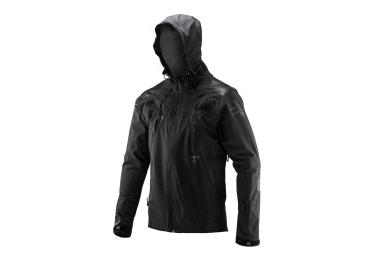 Leatt DBX 5.0 All-Mountain Waterproof Jacket Black