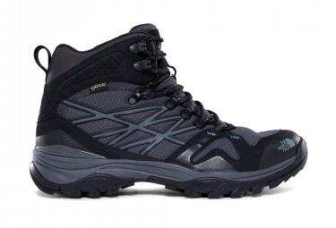 Paire de Chaussures The North Face Hedgehog Fastpack Mid Gore-Tex Noir Gris