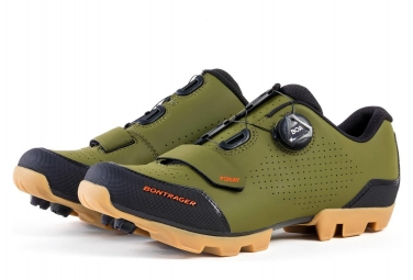 Bontrager FORAY MTB Shoes Grey/Olive
