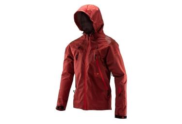 Leatt DBX 5.0 All-Mountain Waterproof Jacket Ruby Red