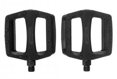 Paire de Pédales Plastiques WELLGO B109 Noir