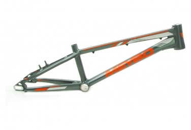 Cadre bmx race meybo holeshot gris orange 2019 pro xl