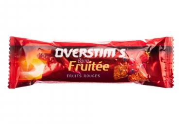 Overstims barre fruitee fruits rouges