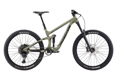 Velo tout suspendu transition patrol alu 27 5 sram nx eagle 12v sagebrush gray 2019