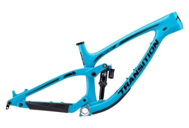 Transition Patrol Carbon 27.5'' MTB Frame | Fox DPX2 Performance Elite Blue 2019