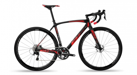 Velo de cyclocross bh rx team carbon 3 0 shimano 105 11v noir rouge 2019 m 164 177 cm