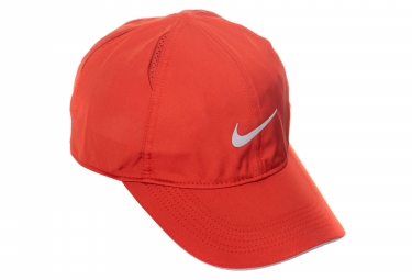Casquette nike featherlight rouge