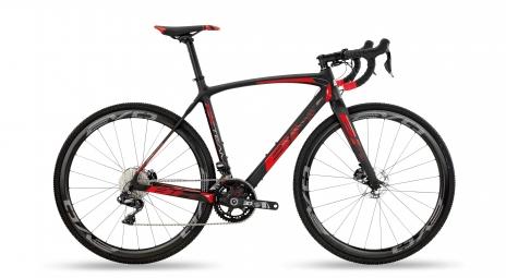 Velo de cyclocross bh rx team carbon 6 0 shimano ultegra di2 11v noir rouge 2019 l 1