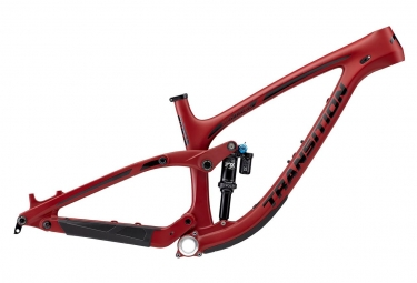 Cadre tout suspendu transition sentinel carbone 29 fox dpx2 performance elite rouge