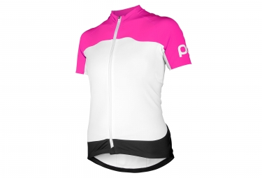 POC Avid Light Jersey Pink / White