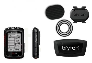 BRYTON Compteur GPS Aero 60T + Cadence Sensor/Heart Sensor