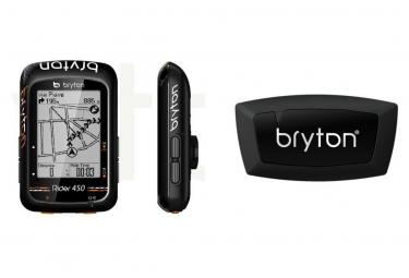 BRYTON Compteur GPS Rider 450H + Ceinture Cardio