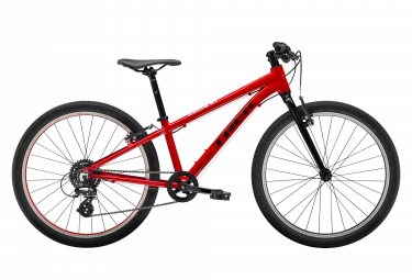 Trek Wahoo 24 Kids Bike 24'' Noir / Rouge
