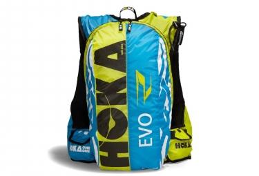 Sac de course Hoka Evo Race 17L Bleu Jaune