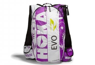 Sac de course Hoka Evo Race 17L Violet Blanc