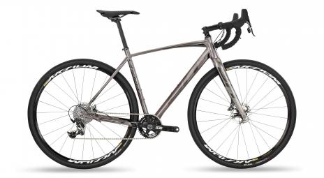 Gravel bike bh gravel x alu 2 5 sram force x1 11v gris noir 2019 l 174 187 cm