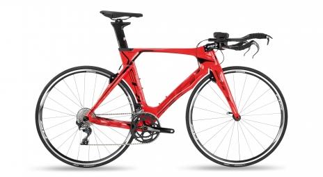 Velo de triathlon bh aerolight 3 0 shimano 105 11v rouge 2019 s 153 161 cm