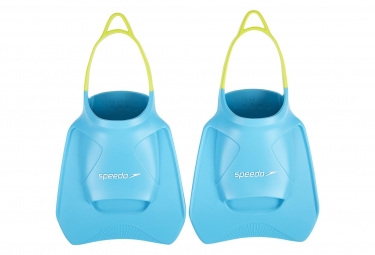 Paire de Palmes Speedo Train Aids Fitness Turquoise