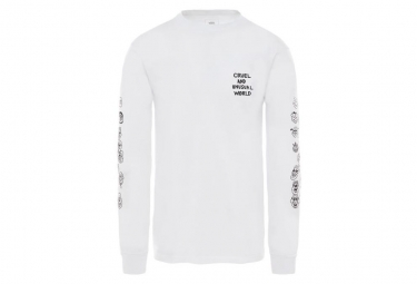 T-Shirt Manches Longues Vans X Cult Blanc