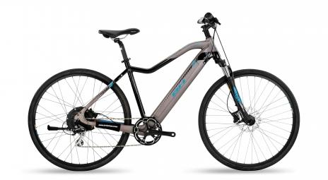 Bicicleta Híbrida Eléctrica BH Evo Cross 28'' Gris / Noir