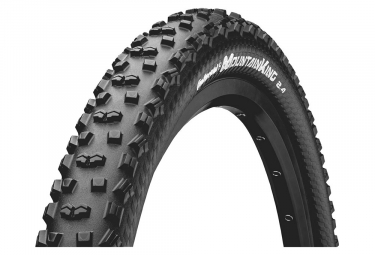 Pneu vtt continental mountain king protection 26 tubeless ready souple blackchili 2 40